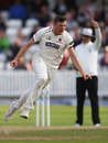 Craig Overton removed Samit Patel lbw, Somerset v Nottinghamshire, County Championship, Division One, Taunton, September 22, 2016