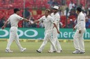 Neil Wagner took the last wicket on the second morning, India v New Zealand, 1st Test, Kanpur, 2nd day, September 23, 2016