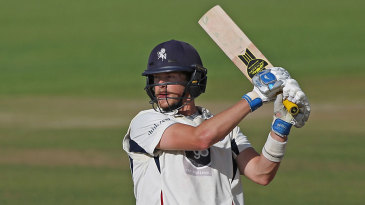 Sam Northeast signed off the season with another hundred