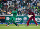 Sharjeel Khan pulls through midwicket, Pakistan v West Indies, 1st T20I, Dubai, September 23, 2016