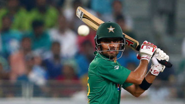 Babar Azam sends one racing through the off side