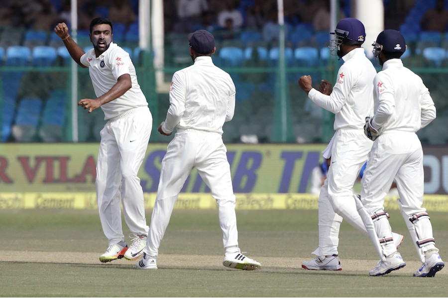 R Ashwin second fastest to 200 wickets in Tests
