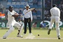 M Vijay struck his second fifty of the Test, India v New Zealand, 1st Test, Kanpur, 3rd day, September 24, 2016