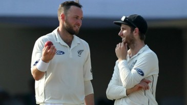 Kane Williamson's captaincy was tested on the third afternoon