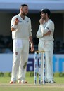 Kane Williamson's captaincy was tested on the third afternoon, 1st Test, Kanpur, 3rd day, September 24, 2016