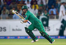 Khalid Latif sets off on a run, Pakistan v West Indies, 2nd T20I, Dubai, September 24, 2016
