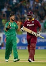 Imad Wasim dismissed Johnson Charles early, Pakistan v West Indies, 2nd T20I, Dubai, September 24, 2016
