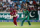 Andre Fletcher scored a quiet 29, Pakistan v West Indies, 2nd T20I, Dubai, September 24, 2016