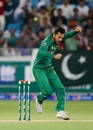Mohammad Nawaz is pumped up after dismissing Dwayne Bravo, Pakistan v West Indies, 2nd T20I, Dubai, September 24, 2016