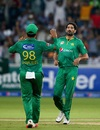 Sohail Tanvir completed 50 T20I wickets and finished with 3 for 13 in four overs, Pakistan v West Indies, 2nd T20I, Dubai, September 24, 2016