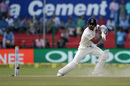 Virat Kohli plays behind square, India v New Zealand, 1st Test, Kanpur, 4th day, September 25, 2016