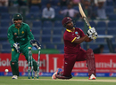 Johnson Charles was bowled for 5 by Imad Wasim, Pakistan v West Indies, 3rd T20I, Abu Dhabi, September 27, 2016