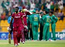 Andre Fletcher walks back dejected after being run out for 9, Pakistan v West Indies, 3rd T20I, Abu Dhabi, September 27, 2016