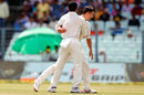 Trent Boult celebrates dismissing Virat Kohli, India v New Zealand, 2nd Test, Kolkata, 1st day, September 30, 2016