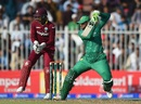 Shoaib Malik brings out the cut shot, Pakistan v West Indies, 1st ODI, Sharjah, September 30, 2016