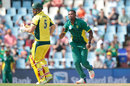 Andile Phehlukwayo removed Aaron Finch in his second over, South Africa v Australia, 1st ODI, Centurion, September 30, 2016