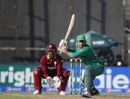 Sarfraz Ahmed gets down to sweep the ball, Pakistan v West Indies, 1st ODI, Sharjah, September 30, 2016