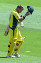 David Warner departs for 40, South Africa v Australia, 1st ODI, Centurion, September 30, 2016
