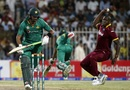 Wahab Riaz was run out by Carlos Brathwaite, Pakistan v West Indies, 1st ODI, Sharjah, September 30, 2016
