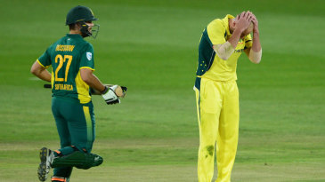 Rilee Rossouw made Australia suffer in a 145-run opening stand with Quinton de Kock