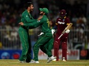 Mohammad Nawaz scythed through West Indies with three wickets, Pakistan v West Indies, 1st ODI, Sharjah, September 30, 2016