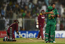 Wahab Riaz clean bowls Sunil Narine with a yorker, Pakistan v West Indies, 1st ODI, Sharjah, September 30, 2016