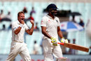 Neil Wagner got rid of Ravindra Jadeja, India v New Zealand, 2nd Test, Kolkata, 2nd day, October 1, 2016