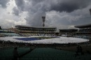 Rain stopped play half an hour before tea, India v New Zealand, 2nd Test, Kolkata, 2nd day, October 1, 2016