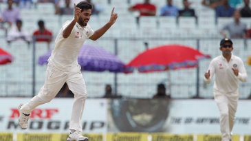 Bhuvneshwar Kumar picked up three of the first five New Zealand wickets