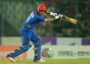 Rahmat Shah top-scored for Afghanistan with 36, Bangladesh v Afghanistan, 3rd ODI, Mirpur, October 1, 2016