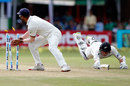 BJ Watling dives to make his ground, India v New Zealand, 2nd Test, Kolkata, 3rd day, October 2, 2016