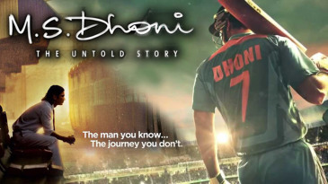 Movie poster for <i>M.S. Dhoni: The Untold Story</i>