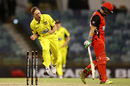 Nathan Rimmington is pumped after a wicket, Western Australia v South Australia, Matador One-Day Cup, Perth, October 2, 2016