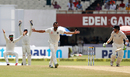 Mohammed Shami and India's fielders go up in appeal , India v New Zealand, 2nd Test, Kolkata, 4th day, October 3, 2016