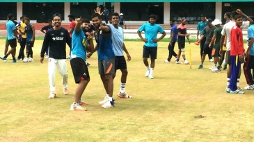 Chhattisgarh players in a buoyant mood at training