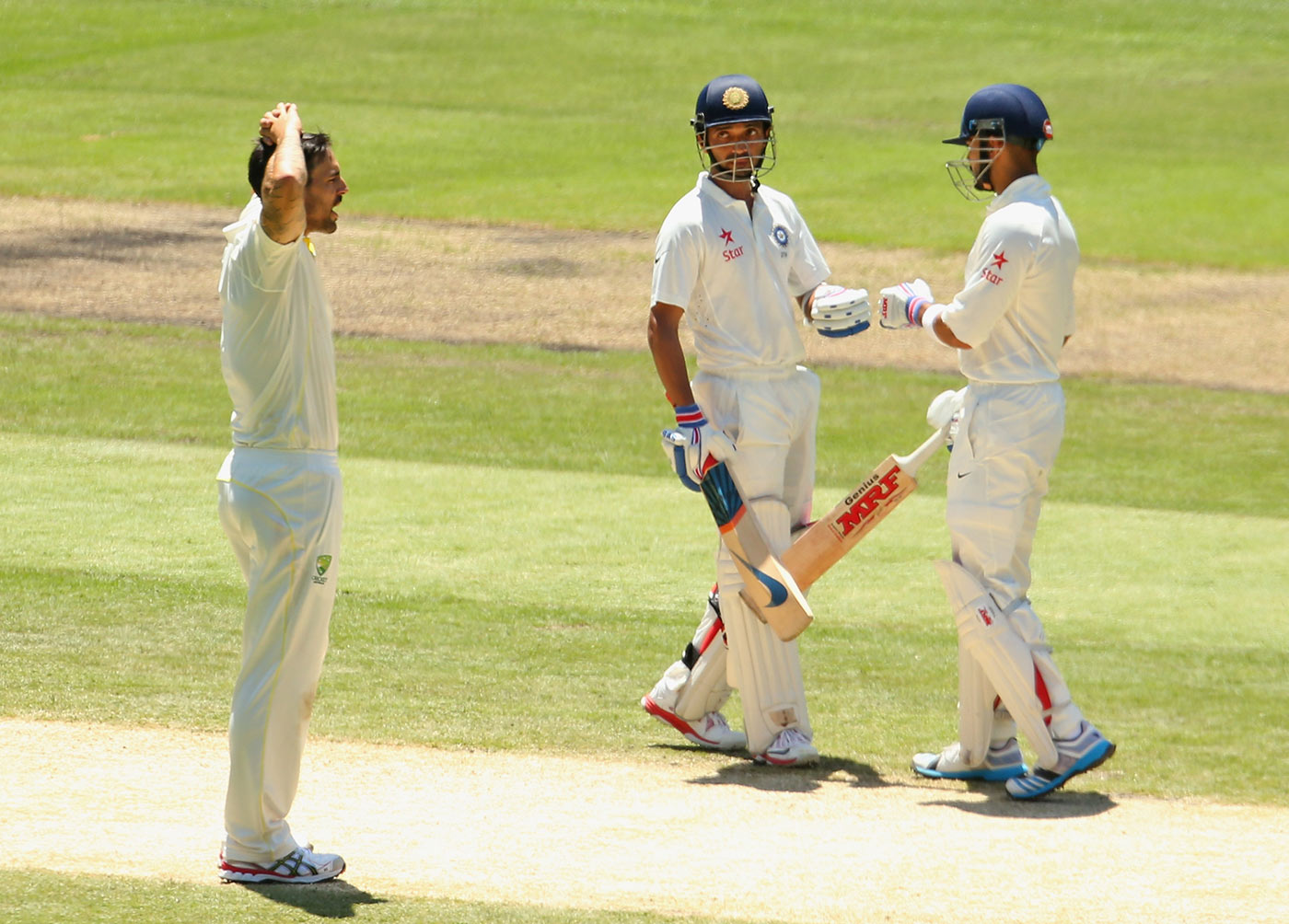The heat is off: Rahane took the pressure away from Kohli with his MCG innings