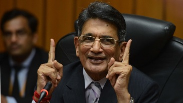 Chief Justice of India RM Lodha at his farewell press conference in Delhi
