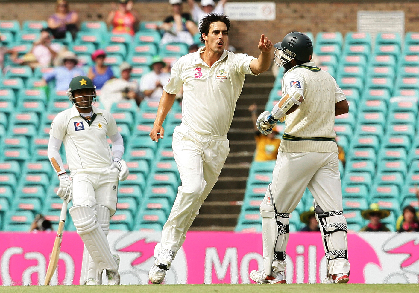 Mohammad Yousuf's dismissal in the Sydney Test of 2010 did not wreck Pakistan's first innings, but the loss of his wicket meant his side's chances of a win plummeted