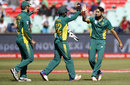 Imran Tahir broke the opening stand, Australia v South Africa, 3rd ODI, Durban, October 5, 2016