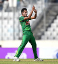 Shafiul Islam celebrates the wicket of James Vince, Bangladesh v England, 1st ODI, Dhaka, October 7, 2016