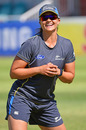 Suzie Bates finds a reason to smile while training, Kimberley, October 7, 2016