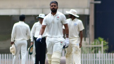 Ashutosh Singh became the first-ever centurion for Chattisgarh in the Ranji Trophy