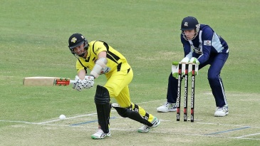 Michael Klinger clips one to the leg side en route to his 87
