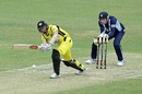 Michael Klinger clips one to the leg side en route to his 87, Western Australia v Victoria, Matador Cup 2016-17, Perth, October 8, 2016