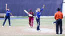 Alex Hartley appeals for a leg before decision, West Indies v England, 1st Women's ODI, Trelawny, October 8, 2016
