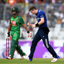 Chris Woakes picked up both openers, Bangladesh v England, 2nd ODI, Mirpur, October 9, 2016