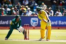 Mitchell Marsh made a patient half-century, South Africa v Australia, 4th ODI, Port Elizabeth, October 9, 2016