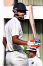 Saurabh Bandekar brings up his half-century, Goa v Hyderabad, Ranji Trophy 2016-17, Group C, Nagpur, 4th day, October 9, 2016