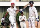Bavanaka Sandeep's century helped Hyderabad put up a strong total, Goa v Hyderabad, Ranji Trophy 2016-17, Group C, Nagpur, 3rd day, October 8, 2016