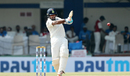 Cheteshwar Pujara plays a pull shot, India v New Zealand, 3rd Test, Indore, 4th day, October 11, 2016